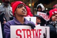 Labor strike