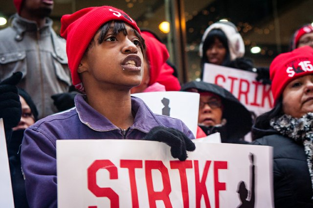 Labor strike