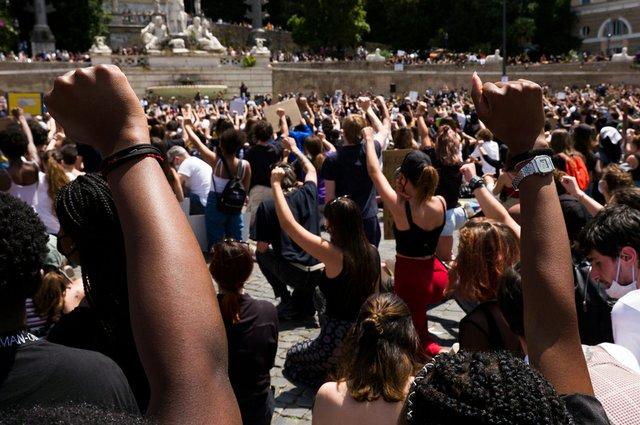 Protest - Raised fist