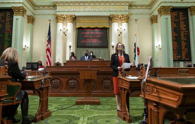 Assemblymember Eloise Gómez Reyes