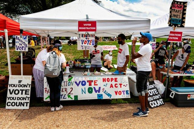 Black voter mobilization