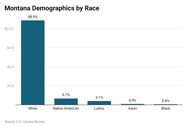 Montana demographics