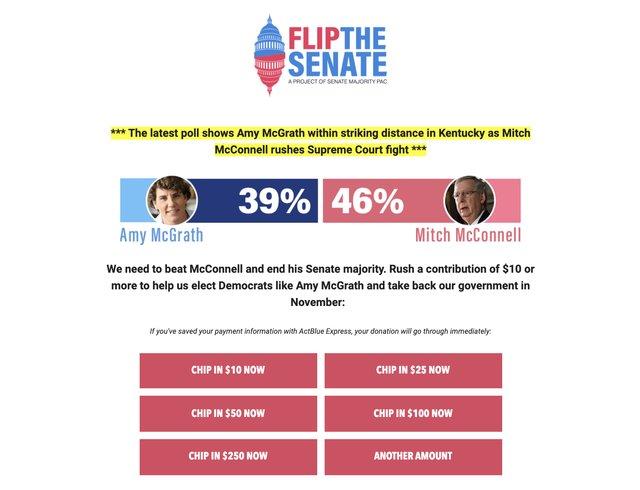 Fundraiser Senate PAC