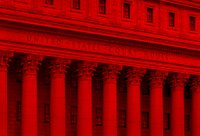 Court House in Red